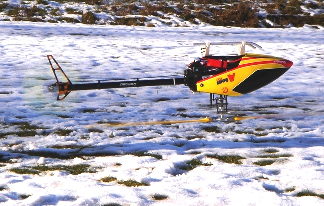 "Picture shows Atom 500 flown by our Switzerland Distributor ""Hugo Markes"""