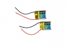 Lectron Pro™ 3.7V 250mAh 30C Lipo Battery 2-Pack for Syma S107 / S107G Helicopters