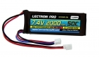 Lectron Pro™ 7.4V 2000mAh 50C Lipo Battery with Mini Connector for Dromida 1/18-Scale Brushless Cars and Trucks