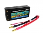 "Lectron Pro™ 7.4V 4600mAh 100C ""Shorty"" Lipo Battery with 4mm Bullet Connectors for 1/10 Scale Cars & Trucks"
