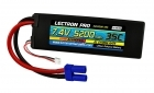 Lectron Pro 7.4V 5200mAh 35C Lipo Battery with EC5 Connector for 1/10th Scale Cars & Trucks