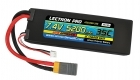 Lectron Pro™ 7.4V 5200mAh 35C Lipo Battery with XT60 Connector <b>+ CSRC adapter for XT60 batteries to popular RC vehicles</b>