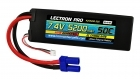 Lectron Pro 7.4V 5200mAh 50C Lipo Battery with EC5 Connector for 1/10th Scale Cars & Trucks - Losi, ECX