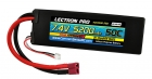 Lectron Pro™ 7.4V 5200mAh 50C Lipo Battery with Deans-Type Connector for 1/10th Scale Cars & Trucks - Team Associated etc.