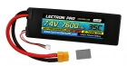Lectron Pro™ 7.4V 7600mAh 35C Lipo Battery with XT60 Connector <b>+ CSRC adapter for XT60 batteries to popular RC vehicles</b>