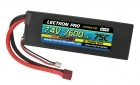Lectron Pro™ 7.4V 7600mAh 75C Lipo Battery with Deans-Type Connector for 1/10th Scale Cars & Trucks