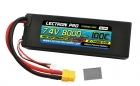 Lectron Pro™ 7.4V 8000mAh 100C Lipo Battery with XT60 Connector <b>+ CSRC adapter for XT60 batteries to popular RC vehicles</b>