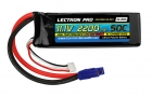 Lectron Pro 11.1V 2200mAh 50C Lipo Battery with EC3 Connector