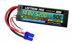 Lectron Pro 14.8V 5200mAh 50C Lipo Battery Hard Case with EC5 Connector