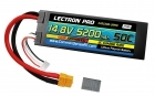 Lectron Pro™ 14.8V 5200mAh 50C Lipo Battery Hard Case with XT60 Connector <b>+ CSRC adapter for XT60 batteries to popular RC vehicles</b>