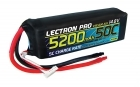 Lectron Pro 14.8V 5200mAh 50C Lipo Battery for Large Planes, Helis & Quads