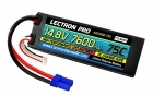 Lectron Pro™ 14.8V 7600mAh 75C Hard Case Lipo Battery with EC5 Connector