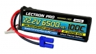 Lectron Pro 22.2V 6500mAh 100C Lipo Battery with EC5 Connector for 1/5 to 1/8 Trucks, Large Planes, Helis & Drones