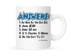 Coffee Mug - Answers - 11 oz.