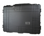 Premium Weather Resistant Quadcopter Case for DJI Inspire & More - Black - DIY Foam