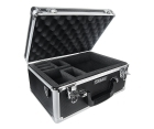 Premium Black Aluminum Case for One Aircraft Transmitter with Die-Cut Foam