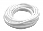 3/16 Woven Split Tube Cable Wrap - White - 25 ft pack