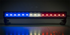 "2-Packages of LED Light Bar - 5.6"" - Police Lights (Red, White, and Blue Lights)"
