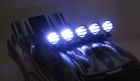 1/10 Crawler LED Light Bar Set - Black