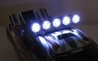 1/10 Crawler LED Light Bar Set - Chrome
