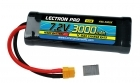Lectron Pro NiMH 7.2V (6-cell) 3000mAh Flat Pack with XT60 Connector <b>+ CSRC adapter for XT60 batteries to popular RC vehicles</b>