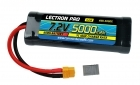 Lectron Pro NiMH 7.2V (6-cell) 5000mAh Flat Pack with XT60 Connector <b>+ CSRC adapter for XT60 batteries to popular RC vehicles</b>
