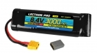 Lectron Pro NiMH 8.4V (7-cell) 3000mAh Flat Pack with XT60 Connector <b>+ CSRC adapter for XT60 batteries to popular RC vehicles</b>