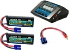 Power Pack #17 - ACDC-10A Charger + 2 x 11.1V 5200mah 50C w/ EC5 Connector (#3S5200-505)