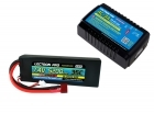 Power Pack #29 - AC-3A Charger + 1 x 7.4V 5200mah 35C w/ T-Plug Type Connector (#2S5200-35D)