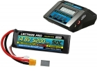 Power Pack #53 - ACDC-10A Charger + 1 x 14.8V 5200mah 50C Soft Pack w/ XT60 + Adapter (#4S5200-50SX)