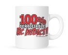 Coffee Mug - 100% Certifiable RC Addict - 11 oz.
