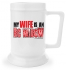 Beer Stein - My Wife is an RC Widow