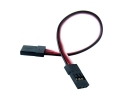 "Male-to-Male Servo Extension Cord - 4"" (100mm)"
