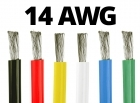 14 Gauge Silicone Wire - 25 ft. Spool - Available in Black, Red, Yellow, Blue, White, and Green