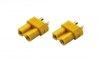 XT30 Connectors - 2 Pack of  Female