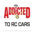 Wall Clock - Addicted to RC Cars - 8 in.