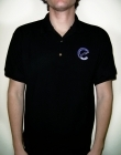 Compass Logo Polo Shirt - Black