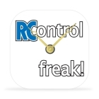 Desk Clock - RC Control Freak! - 4 in.
