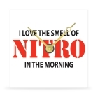 Wall Clock - Smell of Nitro - 8 in.