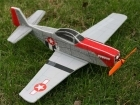 TechOne Mini P-51 - 4-Ch Aerobatic EPP Foam Plane Kit